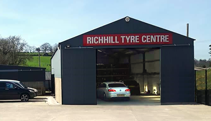 Richhill Tyres Premises